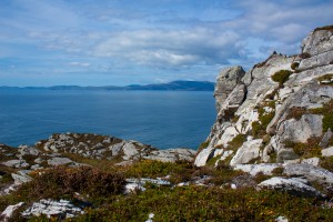 A typical Irish view at the atlantic ocean